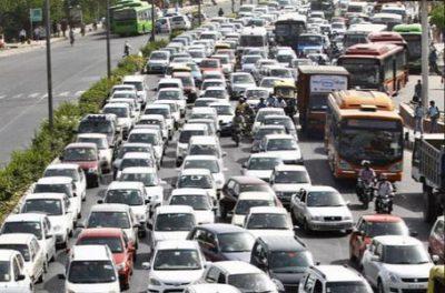 交通渋滞の写真
